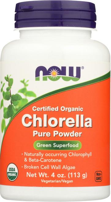 Chlorella Powder, Certified Organic - 4 oz.