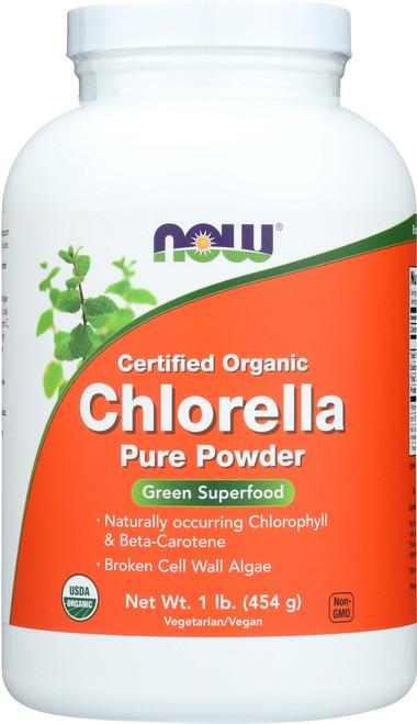 Chlorella Powder (Certified Organic) - 1 lb.