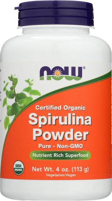 Spirulina Powder, Organic - 4 oz.
