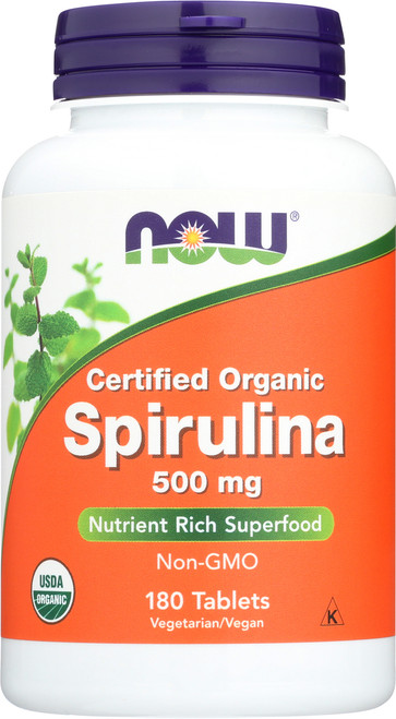 Spirulina 500 mg - 180 Tablets