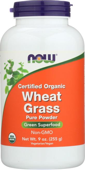 Wheat Grass Powder - 9 oz. - Organic, Non-GE