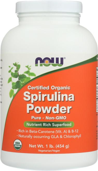 Spirulina Powder, Certified Organic - 1 lb.