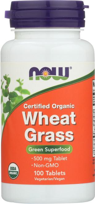 Wheat Grass 500 mg - 100 Tablets