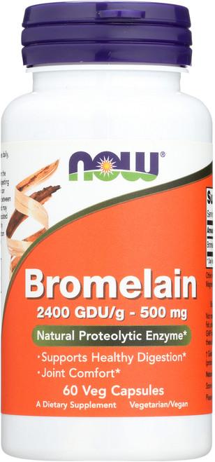 Bromelain 500 mg - 60 Veg Capsules
