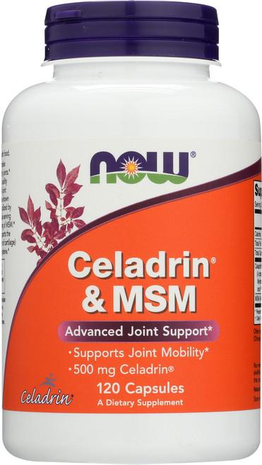 Celadrin® & MSM 500 mg - 120 Capsules