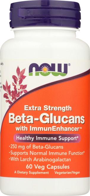 Beta-Glucans with ImmunEnhancer™ 250mg - 60 Vcaps®