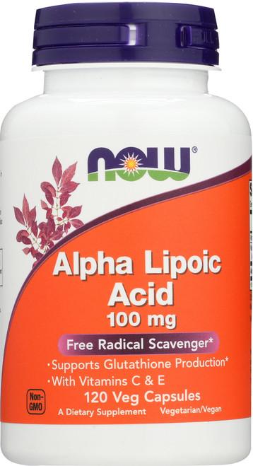 Alpha Lipoic Acid 100 mg - 120 Vcaps®