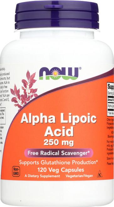 Alpha Lipoic Acid 250 mg - 120 Vcaps®