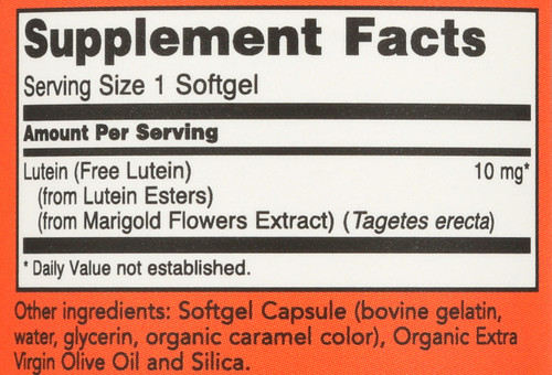 Lutein 10 mg - 60 Softgels