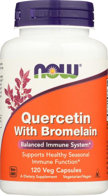 Quercetin with Bromelain - 120 Vcaps®