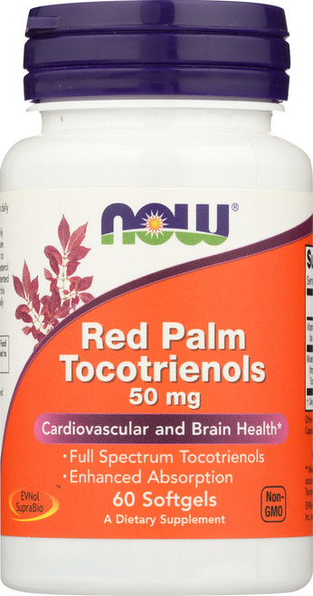 Red Palm Tocotrienols 50 mg - 60 Softgels
