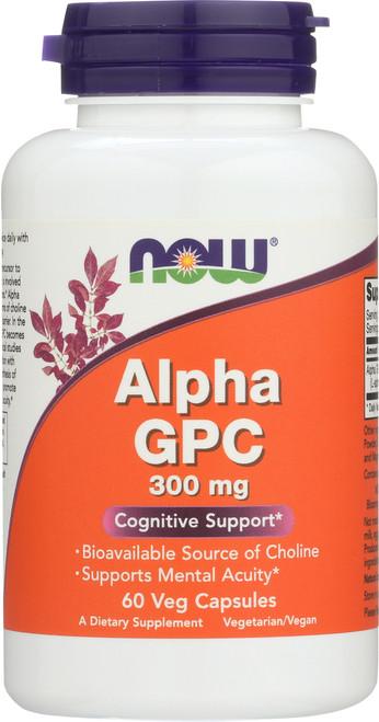 Alpha GPC 300 mg - 60 Vcaps®