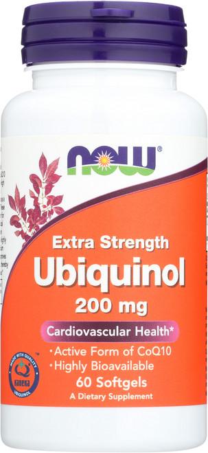 Ubiquinol 200 mg Extra Strength - 60 Softgels