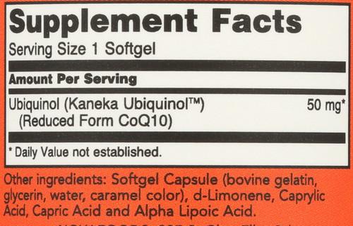 Ubiquinol CoQH-CF™ - 60 Softgels