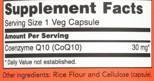 CoQ10 30 mg Vegetarian - 60 Vcaps