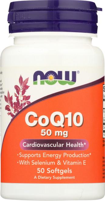CoQ10 50 mg - 50 Softgels