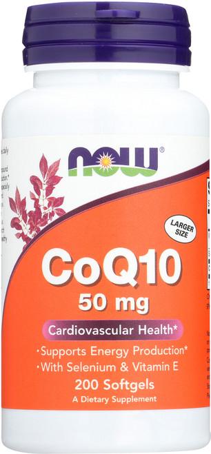 CoQ10 50 mg - 200 Softgels