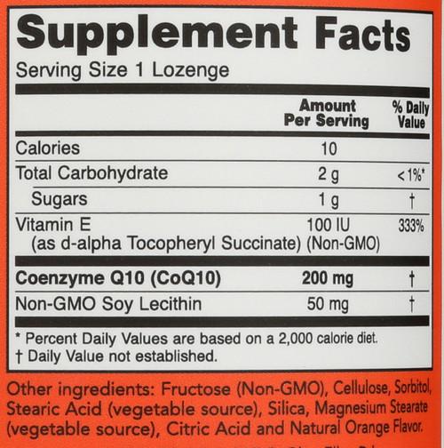 CoQ10 200 mg - 90 Lozenges