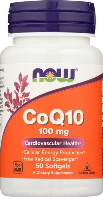 CoQ10 100 mg - 50 Softgels