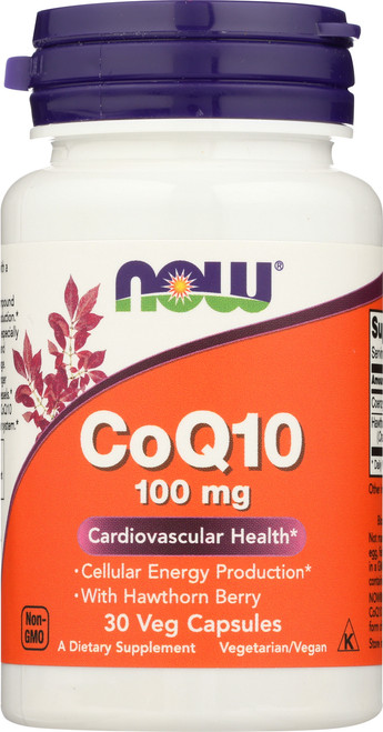 CoQ10 100 mg with Hawthorn Berry Vegetarian - 30 Vcaps®