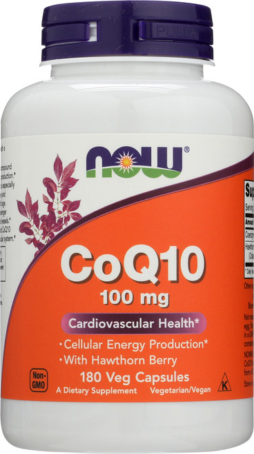 CoQ10 100 mg with Hawthorn Berry Vegetarian - 180 Vcaps®