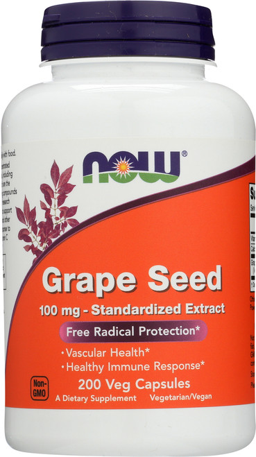 Grape Seed 100 mg - 200 Vcaps®