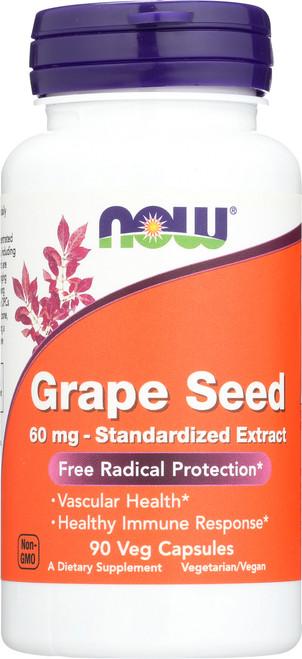 Grape Seed 60 mg - 90 Veg Capsules