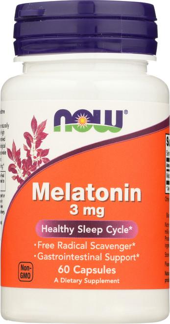 Melatonin 3 mg - 60 Capsules