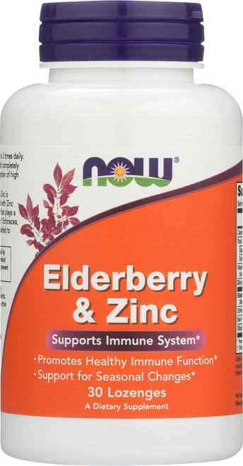 Elderberry & Zinc - 30 Lozenges