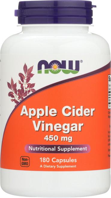 Apple Cider Vinegar 450 mg - 180 Capsules