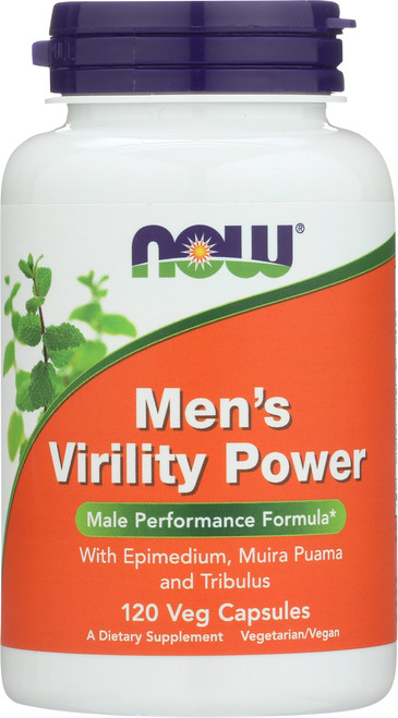 Men's Virility Power - 120 Capsules