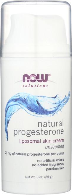 Natural Progesterone Liposomal Skin Cream - 3 oz.