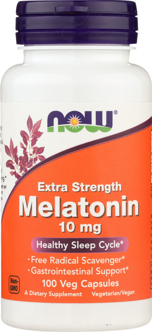 Melatonin 10 mg Extra Strength - 100 Veg Capsules