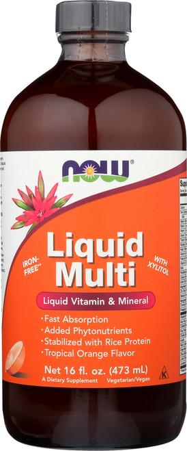 Liquid Multi Tropical Orange Vegetarian  Non-GE- 16 oz.