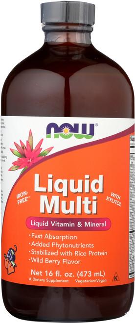 Liquid Multi Wild Berry - 16 oz.