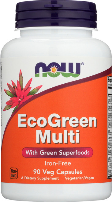 Eco-Green Multi Vitamin - 90 Veg Capsules