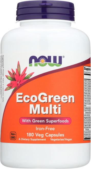 EcoGreen Multi Vitamin - 180 Veg Capsules