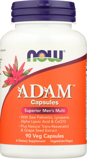 ADAM™ Superior Men's Multiple Vitamin - 90 Veg Capsules