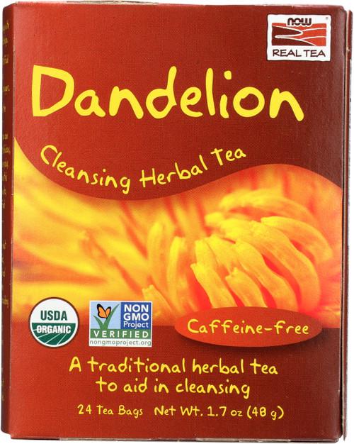 Dandelion Cleansing Herbal Tea - 24 Tea Bags