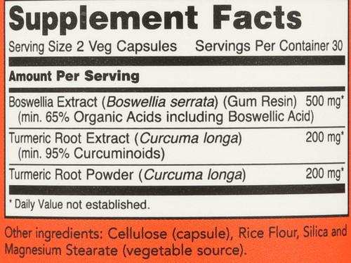 Boswellia Extract 250 mg - 60 Veg Capsules