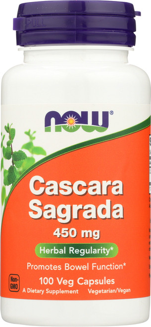 Cascara Sagrada 450 mg - 100 Capsules