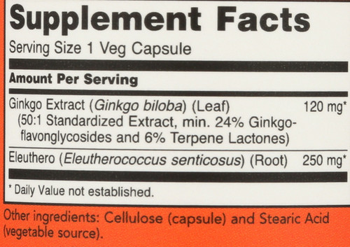 Ginkgo Biloba 120 mg - 50 Vcaps®