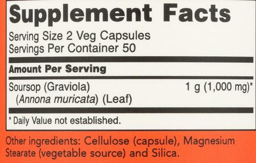 Graviola - 100 Capsules