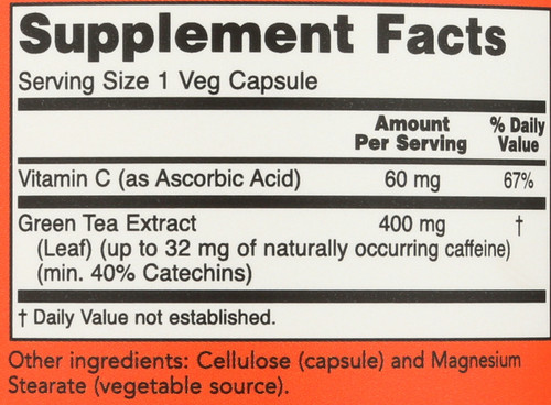 Green Tea Extract 400 mg - 250 Capsules