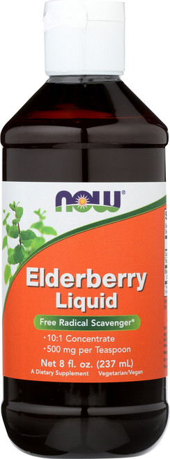 Elderberry Liquid - 8 oz.