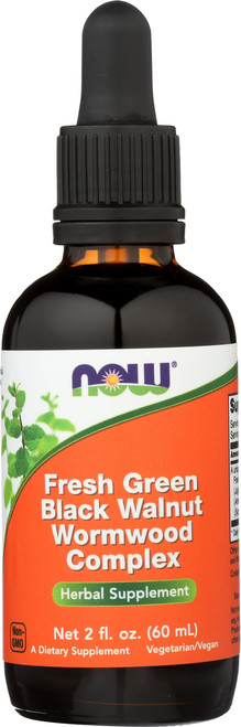 Fresh Green Black Walnut Wormwood Complex - 2 oz.