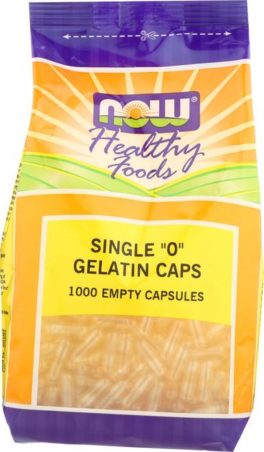 """Gelatin Caps """"0"""" - 1000 gel caps"""