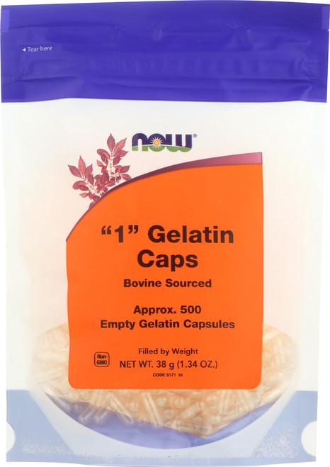 Gelatin Caps #1 - 500 gel caps