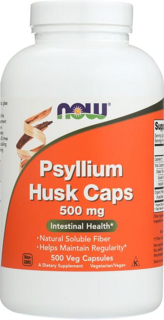 Psyllium Husk 500 mg - 500 Capsules