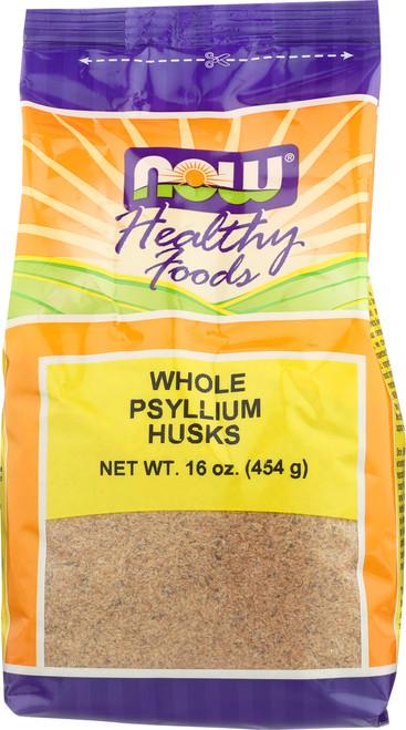 Psyllium Husks Whole Vegetarian - 16 oz.